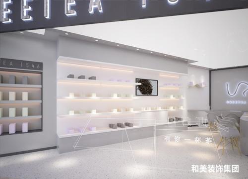UNEETEA 1546店铺设计工程