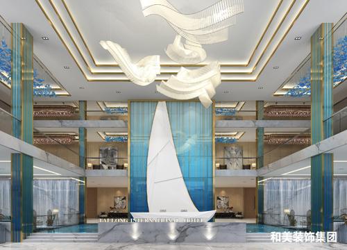 青岛泰隆酒店设计项目