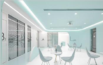 【设计】生物科技公司办公空间设计案例