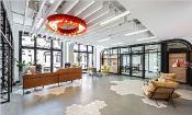 国外loft风办公空间设计,引领办公新趋势
