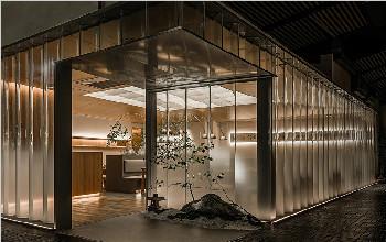 看了这家私房菜餐厅空间设计,就想来试一下